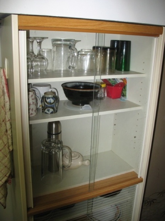 A picture of my cabinet.