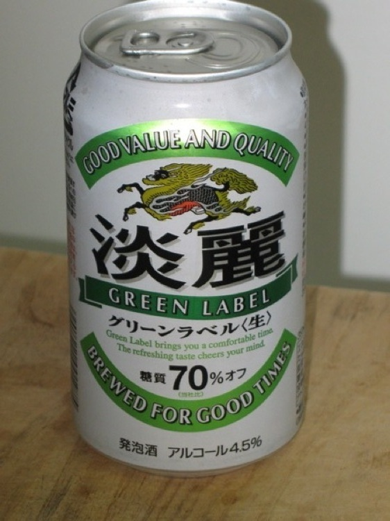 A can of Kirin beer.