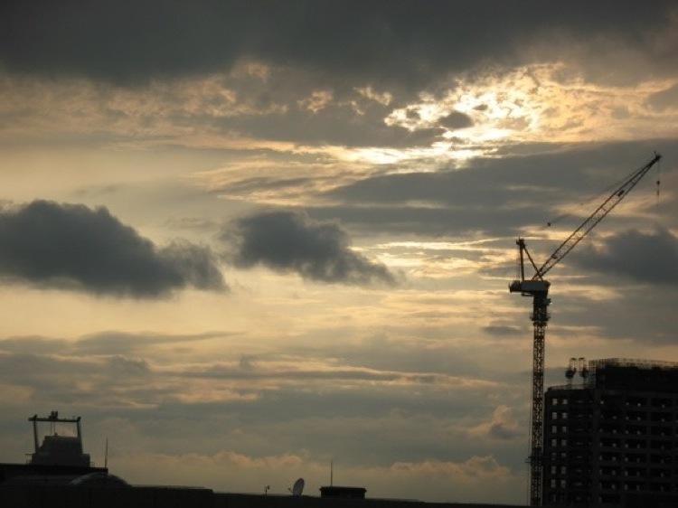 Crane in Tokyo